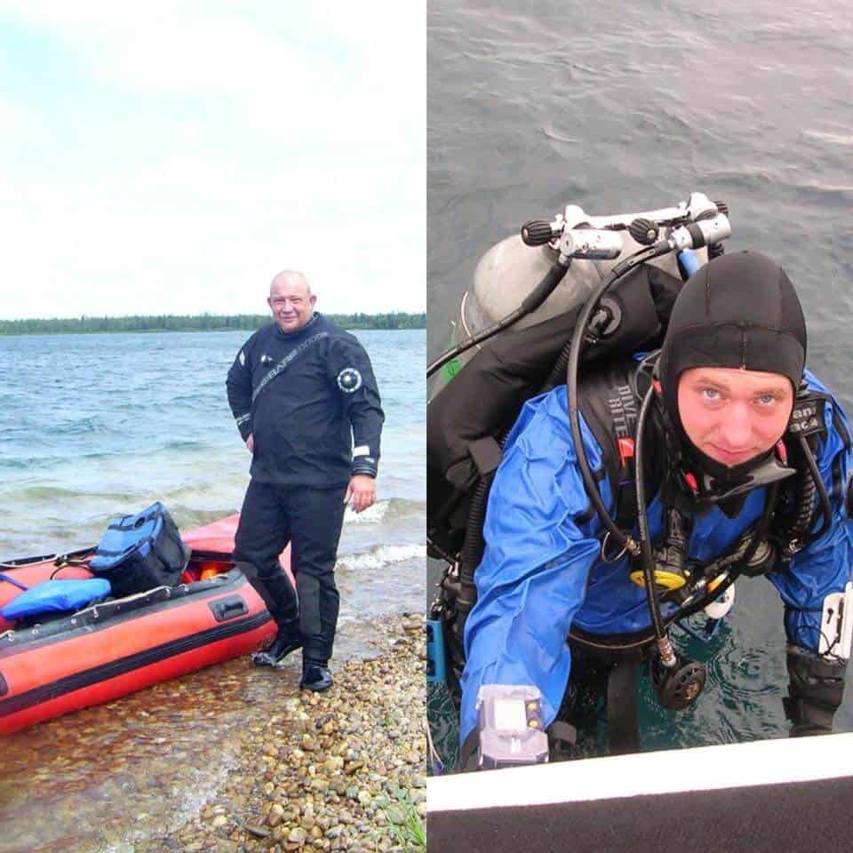 Team of Black Water Recovery Divers